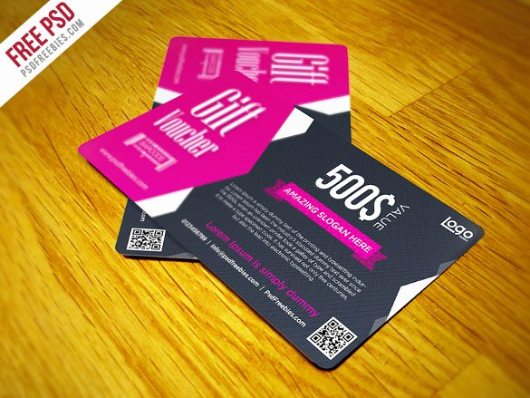 Gift Card Template Psd Awesome Birthday Coupon Template 16 Free Sample Example format
