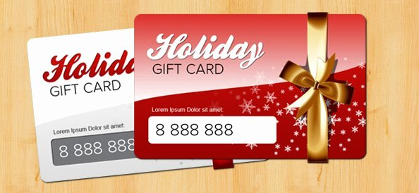 Gift Card Template Psd Best Of Free Holiday Gift Card Psd Template Psd Files Vectors