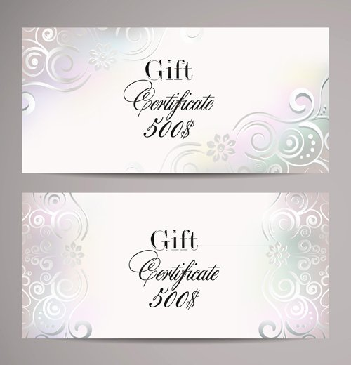 Gift Card Template Psd Best Of ornate T Certificates Template Vectors Free Vector In