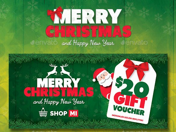 Gift Card Template Psd Fresh 150 Christmas Card Templates – Free Psd Eps Vector Ai