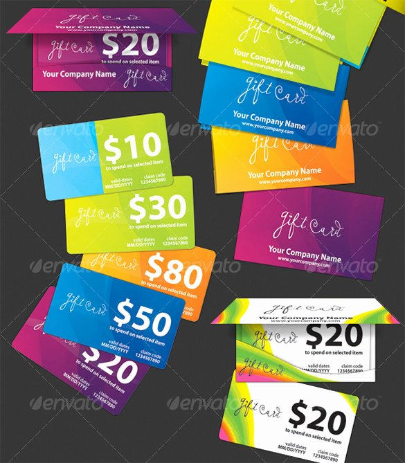 Gift Card Template Psd Inspirational Gift Card Template 14 Free Sample Example format