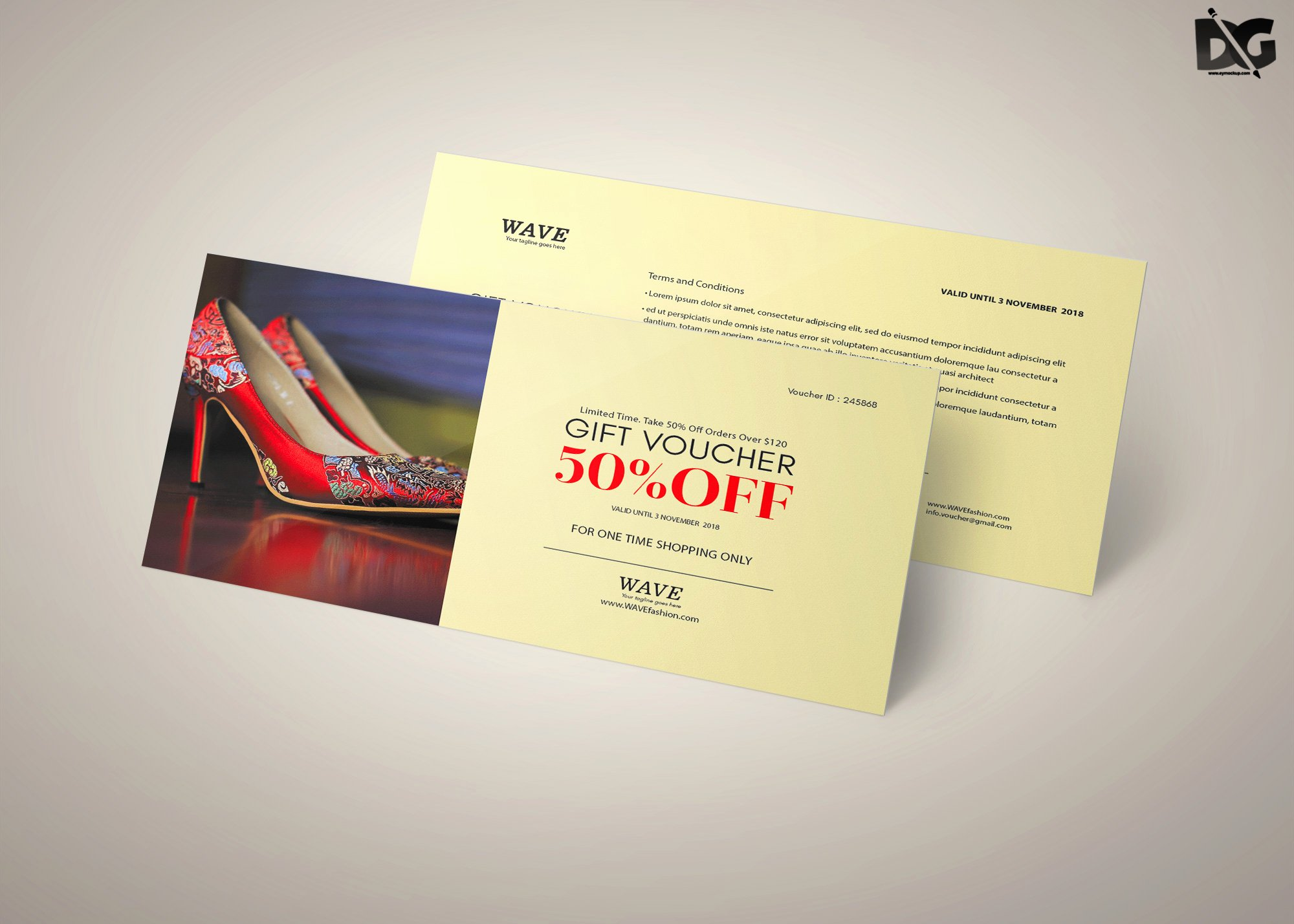 Gift Card Template Psd New Free Psd Sandals Discount Gift Card Template