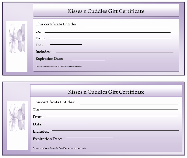 Gift Certificate Template Word Free Fresh 11 Free Gift Certificate Templates – Microsoft Word Templates