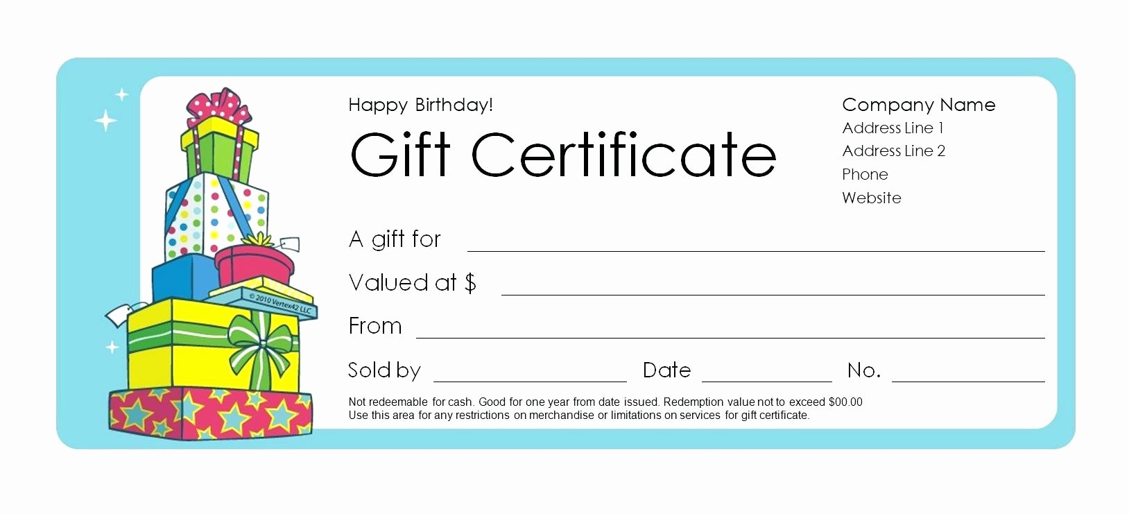Gift Certificate Template Word Free New Template Microsoft Word Gift Certificate Template