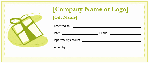 Gift Certificate Template Word Free Unique New Editable Gift Certificate Templates