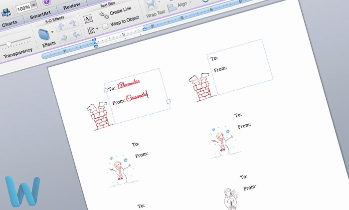 Gift Tag Template Microsoft Word Best Of Free Printable Customizable Gift Tags No Cutting Required