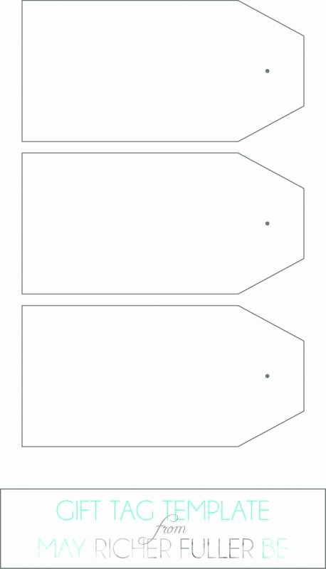 Gift Tag Template Microsoft Word Elegant Gift Tag Template Word