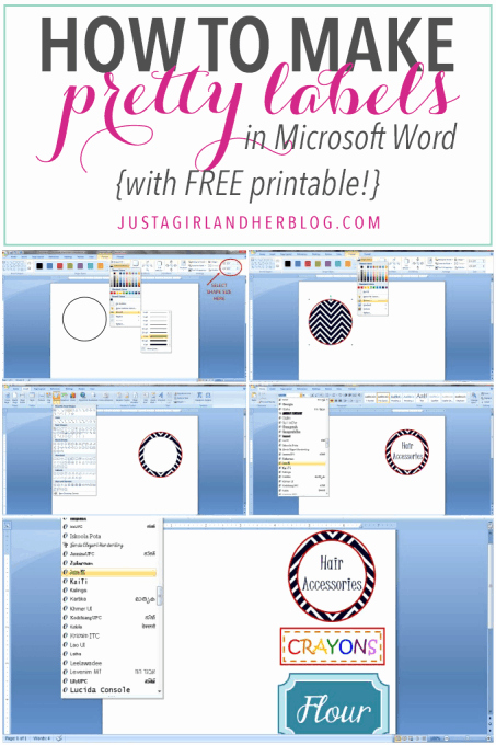 Gift Tag Template Microsoft Word Elegant How to Make Pretty Labels In Microsoft Word