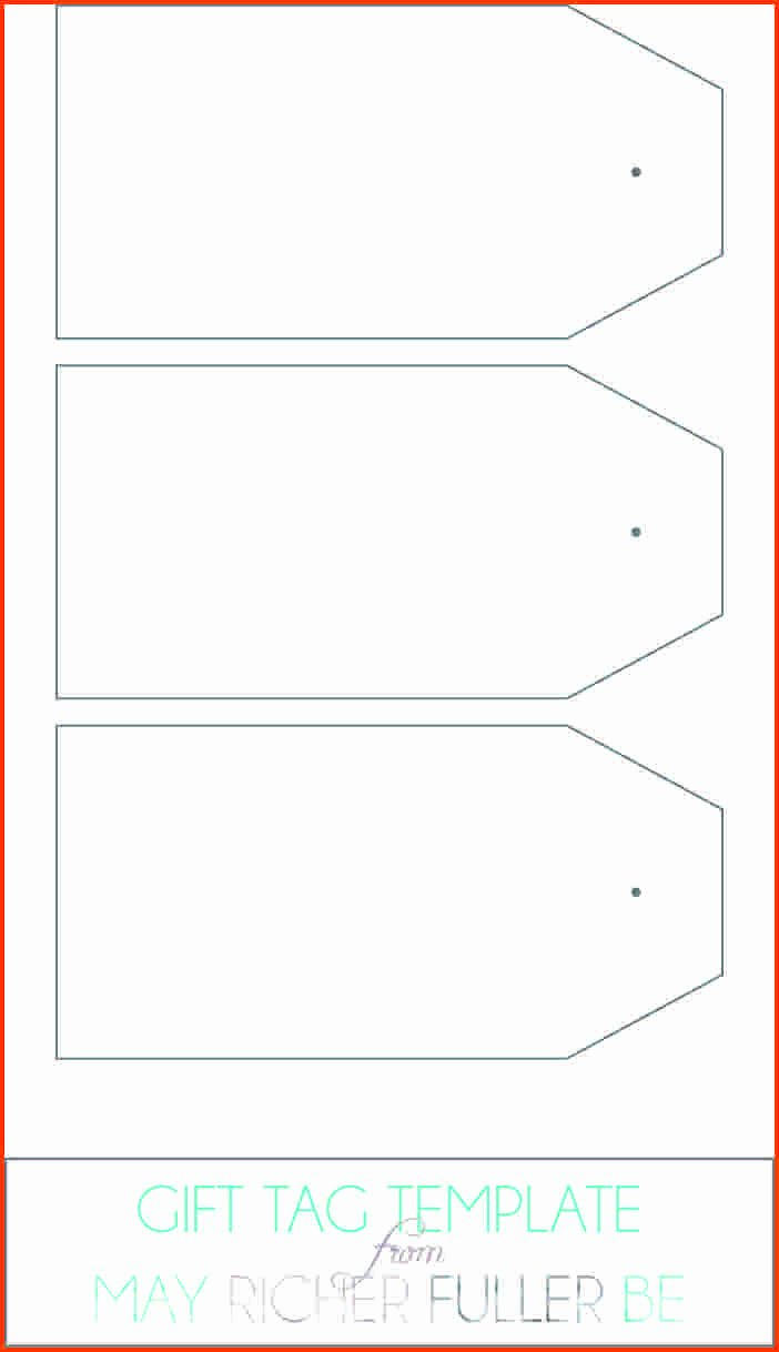 Gift Tag Template Microsoft Word Elegant T Tag Template Word