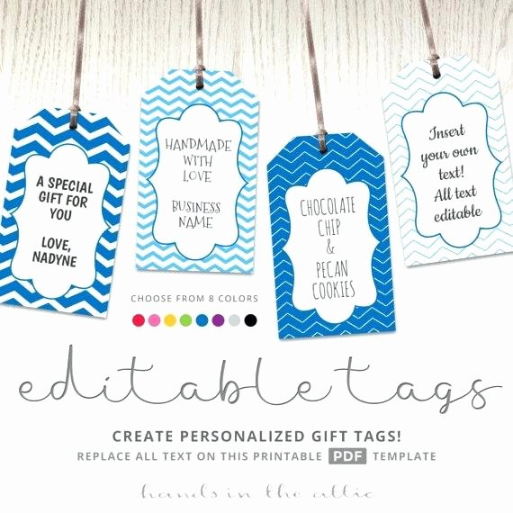 Gift Tag Template Microsoft Word Luxury Custom Gift Tags Made with Love Tag Template Free