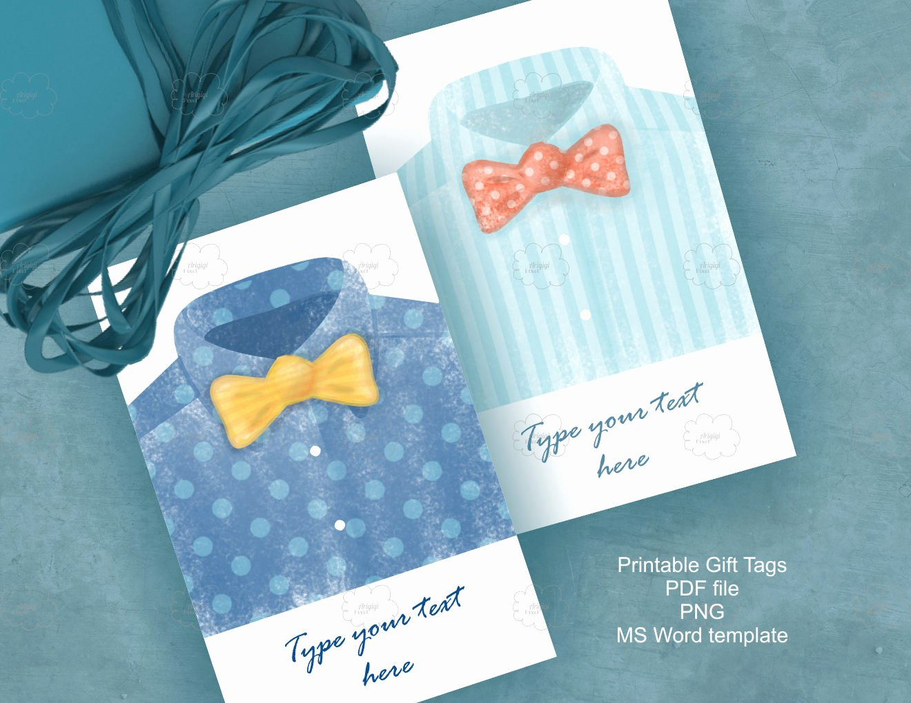 Gift Tag Template Microsoft Word Unique Watercolor Father S Day Tags Editable T Tags Ms Word