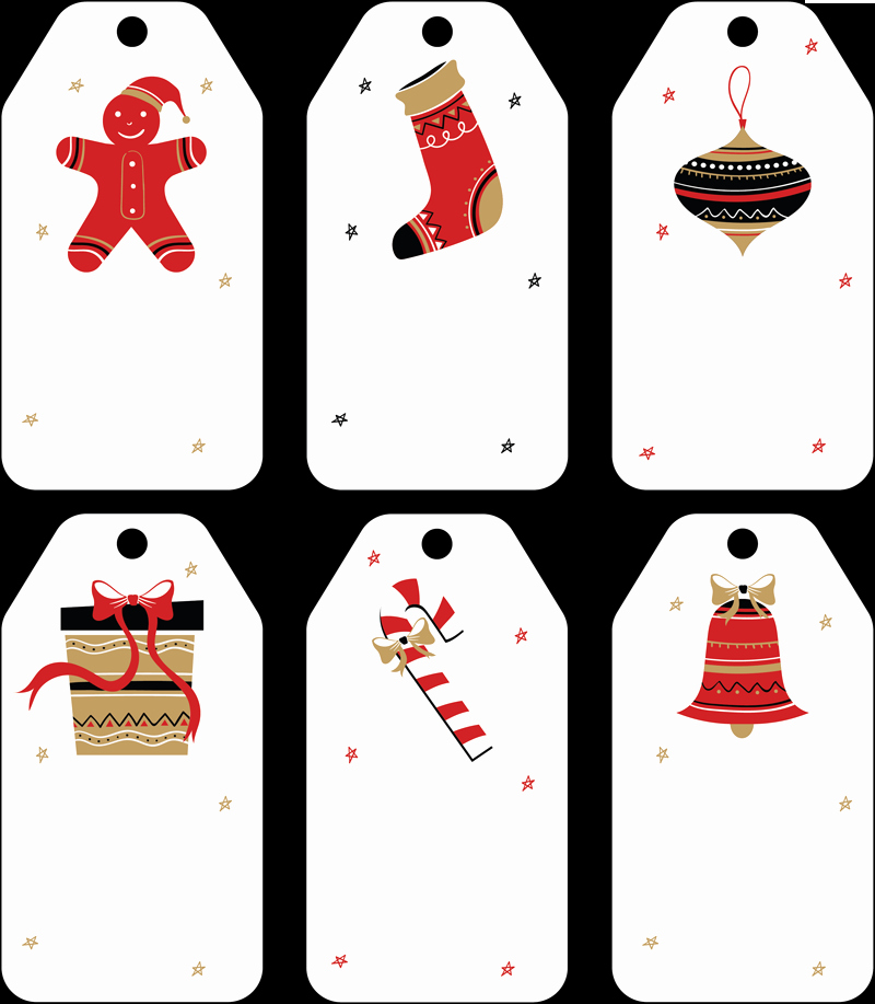 Gift Tag Template Word Awesome Free Christmas Gift Tag Templates Editable & Printable