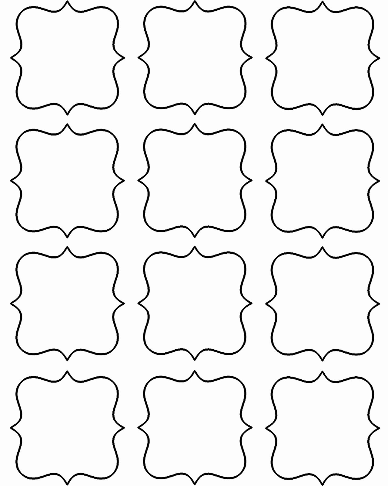 Gift Tag Template Word New Doodlecraft Freebie Week Gift Tags and Labels