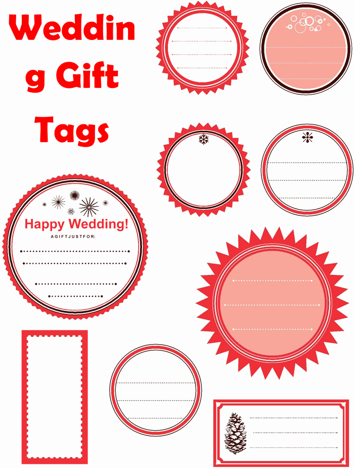Gift Tag Template Word Unique 5 Gift Tag Templates to Create A Personalized Gift Tag