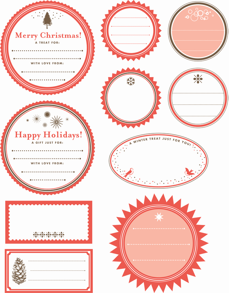 Gift Tag Template Word Unique Printable Gift Tag Templates Print Free Gift Wrapping Tags