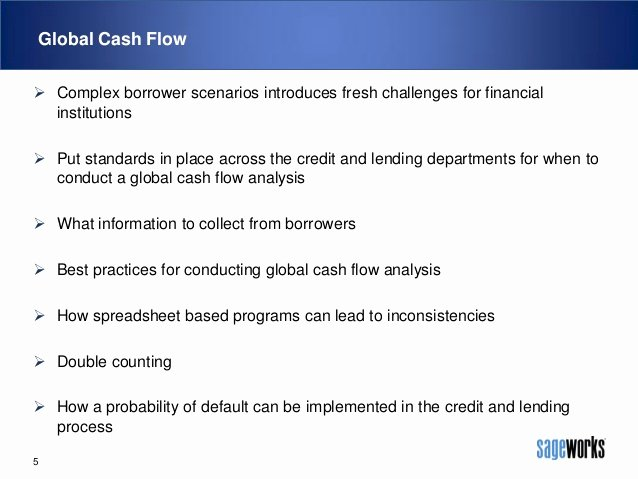 Global Cash Flow Template Awesome Global Cash Flow Analysis What when why and How