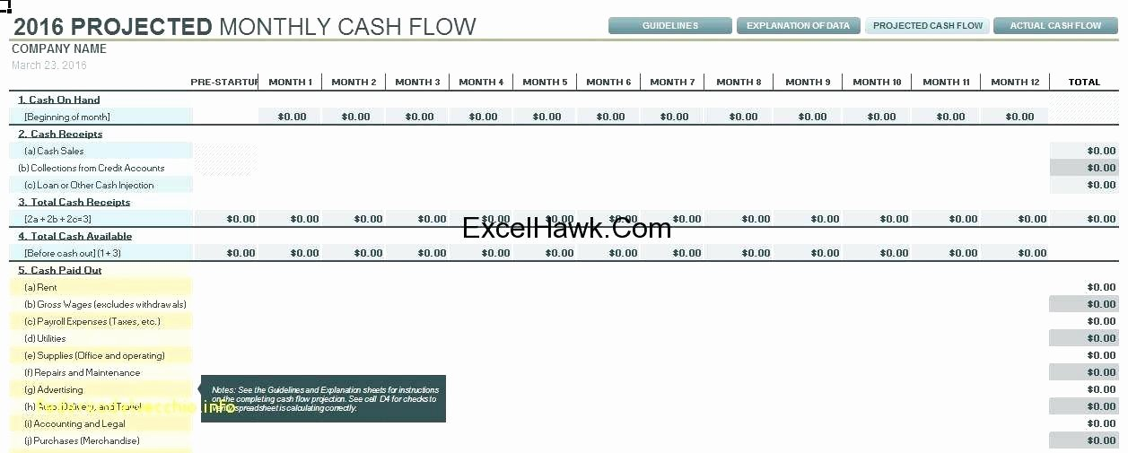 Global Cash Flow Template Fresh Cash Flow Analysis Template Excel Sensitivity – Deepwaters