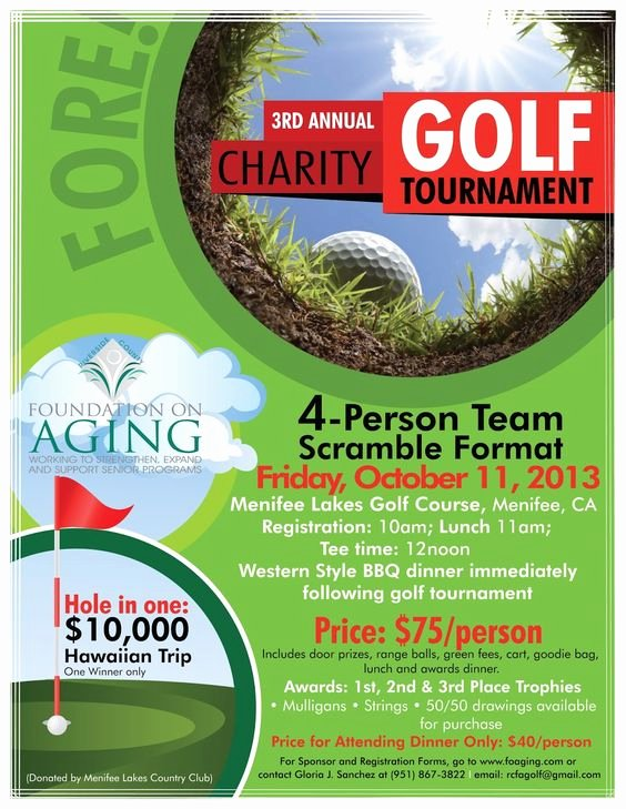 Golf Scramble Flyer Template Best Of Charity Golf and Search On Pinterest