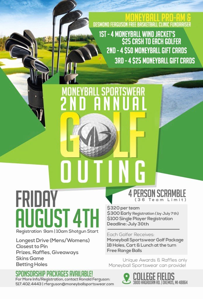 Golf Scramble Flyer Template Inspirational Golf Outing Flyers Pertamini