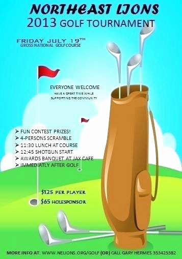 Golf Scramble Flyer Template New Golf Scramble Flyer Template – Buildingcontractor