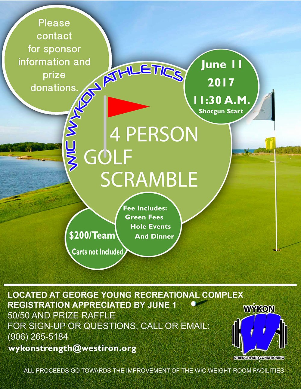 Golf Scramble Flyer Template Unique Golf Scramble