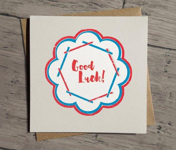 Good Luck Card Template Elegant 18 Good Luck Card Templates Psd Ai Eps