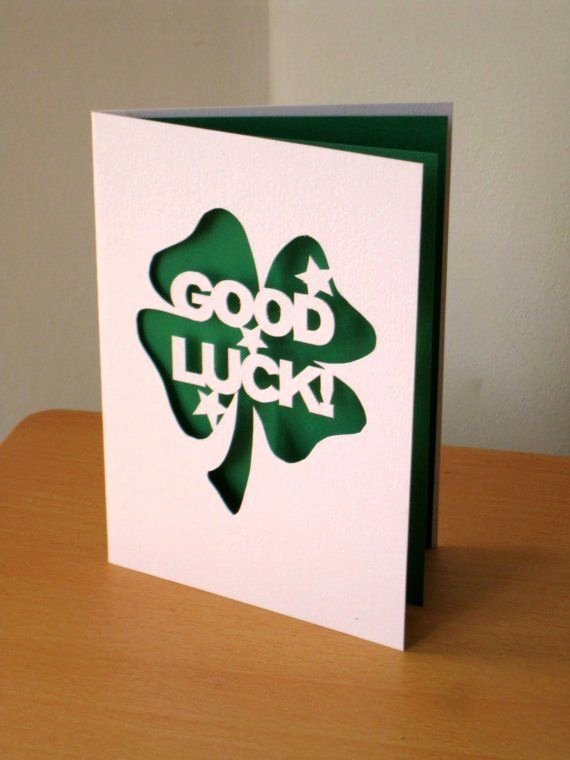 Good Luck Card Template New 17 Best Images About Good Luck Cards On Pinterest