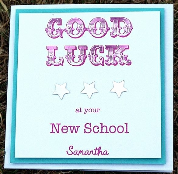 Good Luck Card Template Unique Green and Cream Card Use This Template Good Luck Word