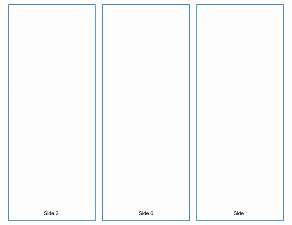 Google Brochure Template Free Beautiful Blank Tri Fold Brochure Template Google Slides Free Download