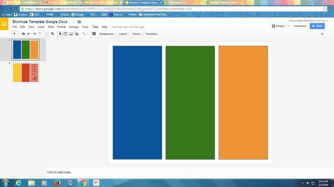 Google Brochure Template Free Best Of Google Slides Brochure Template 2018