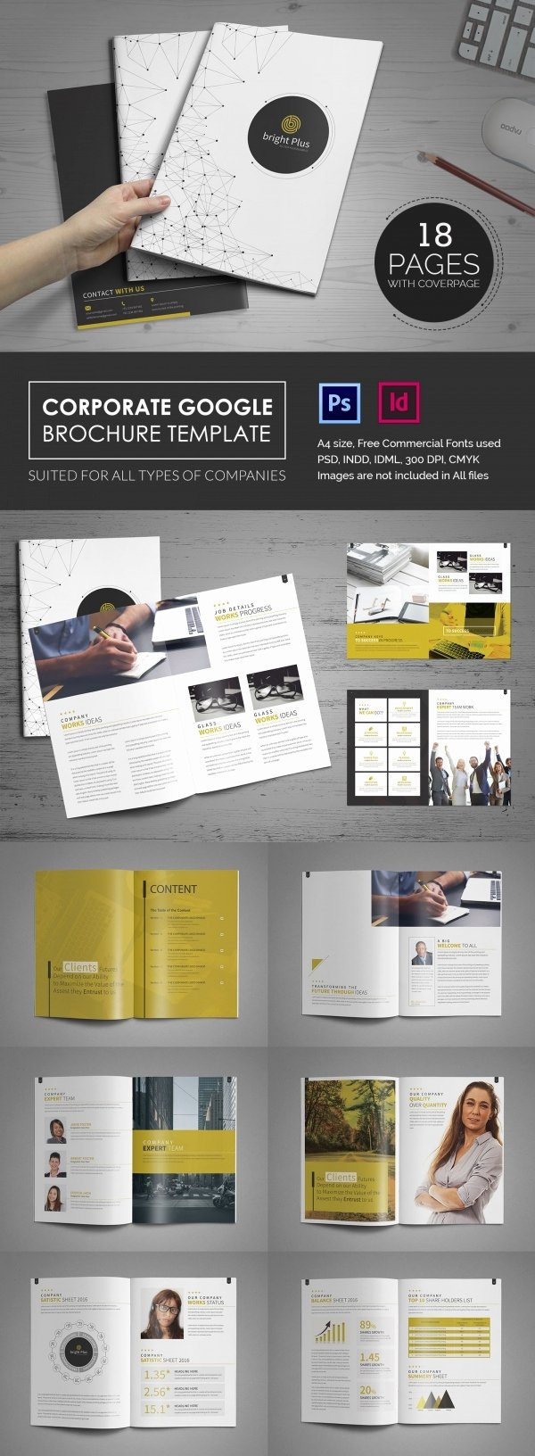 Google Brochure Template Free New 10 Fabulous Google Brochure Templates