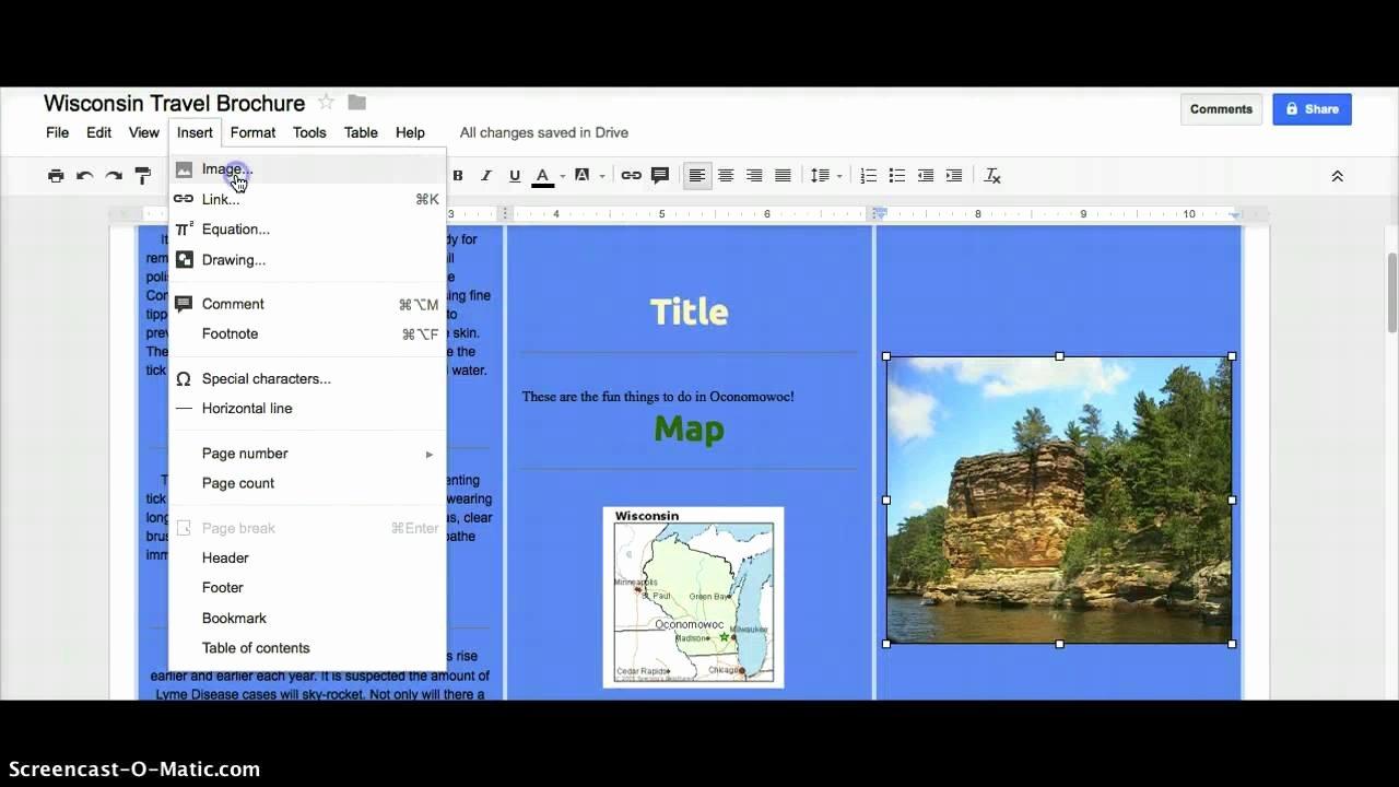 Google Brochure Template Free New Google Docs Brochure Template File Free Download