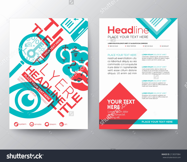 Google Brochure Template Free Unique Free Google Flyer Design Yourweek D1b3dceca25e