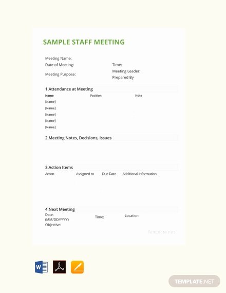 Google Docs Meeting Minutes Template Awesome 38 Free Google Docs Meeting Minutes Templates