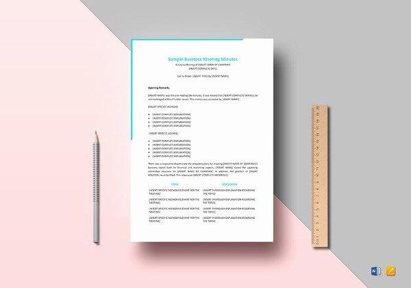 Google Docs Meeting Minutes Template Beautiful 17 Board Meeting Minutes Examples