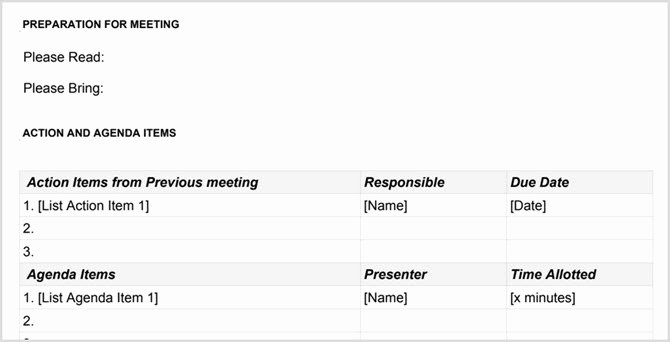 Google Docs Meeting Minutes Template Best Of the Google Docs Guide You Need for All Your Business