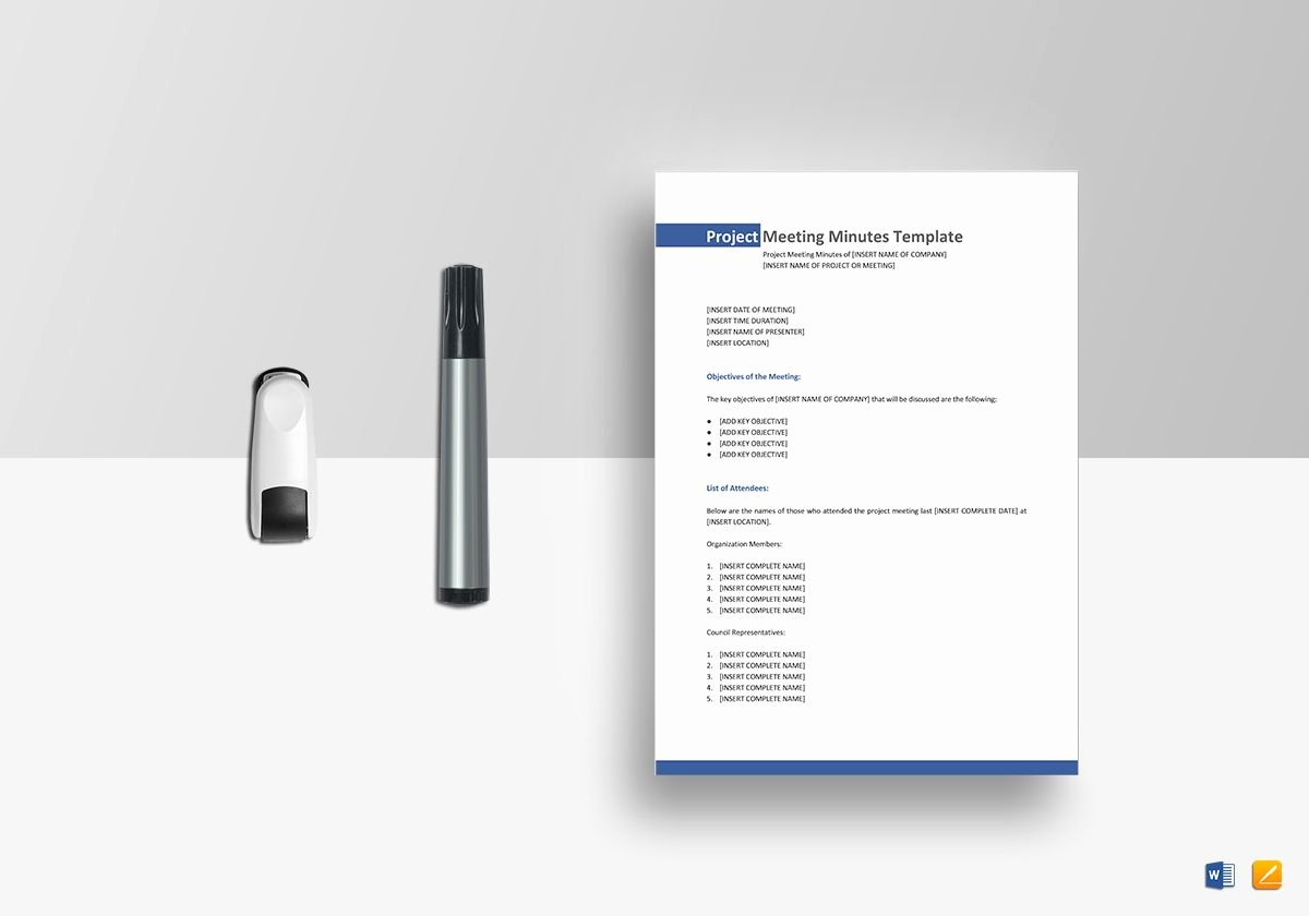 Google Docs Meeting Minutes Template Fresh Project Meeting Minutes Template In Word Google Docs