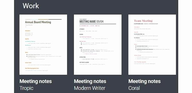 Google Docs Meeting Minutes Template Luxury Example Any Minutes A Meeting 7 Agenda and Meetings