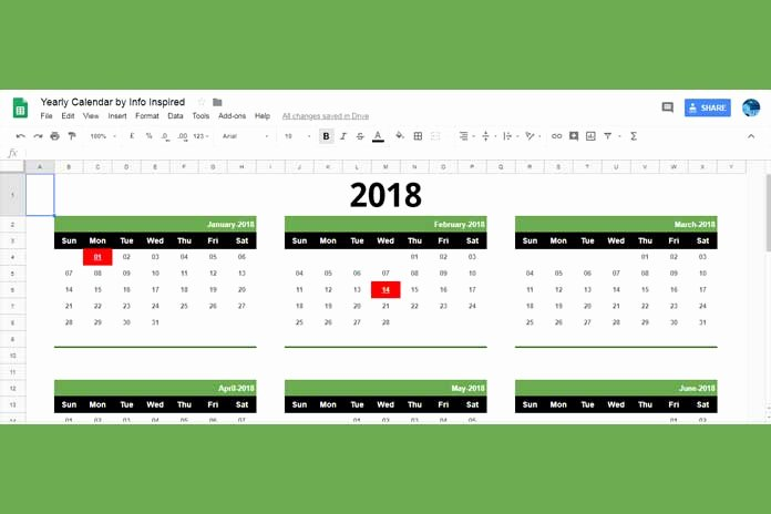 Google Sheets Schedule Template Beautiful Free Google Sheets Calendar Template Download and How to