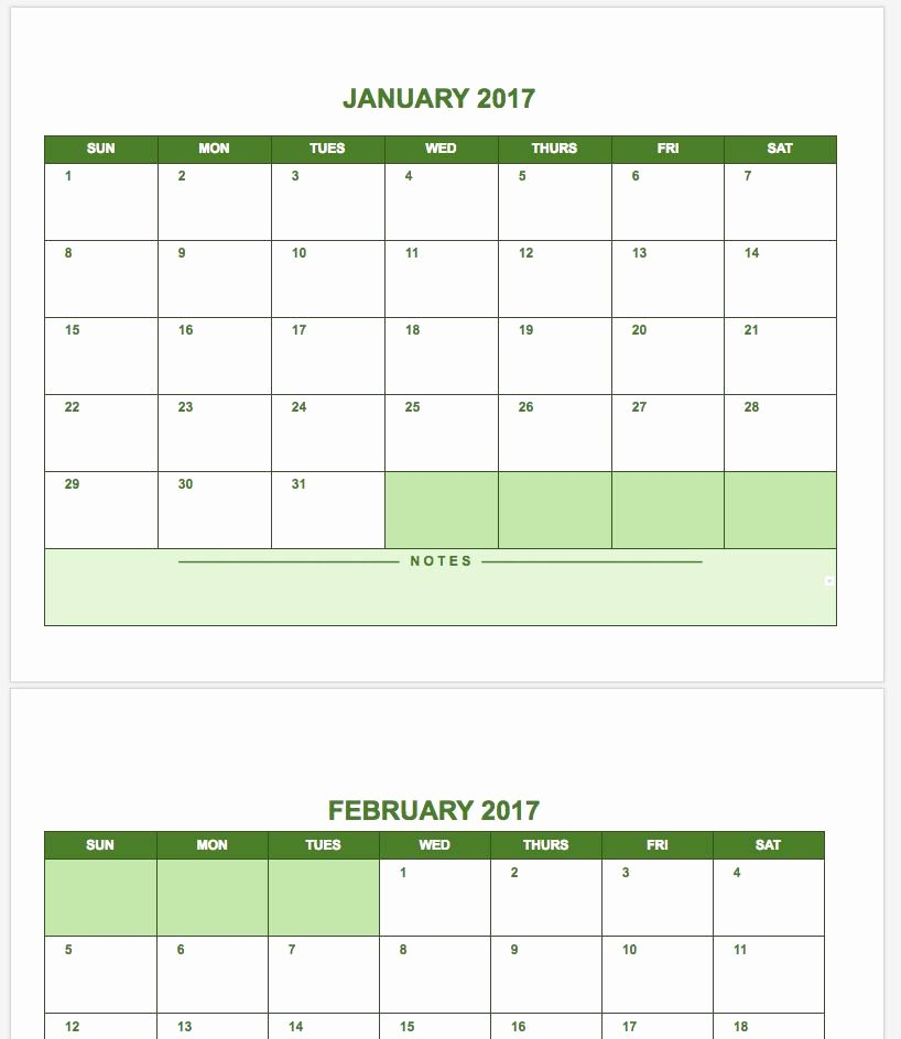 Google Sheets Schedule Template Elegant Free Google Calendar Templates