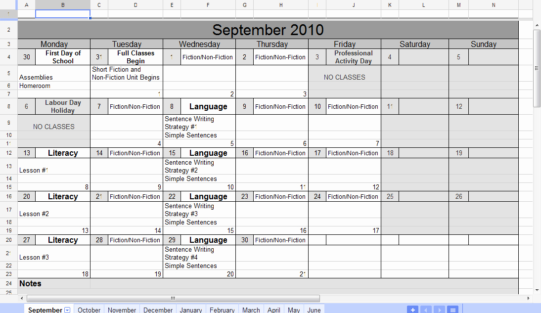 Google Sheets Schedule Template Inspirational Google Spreadsheet Calendar Template
