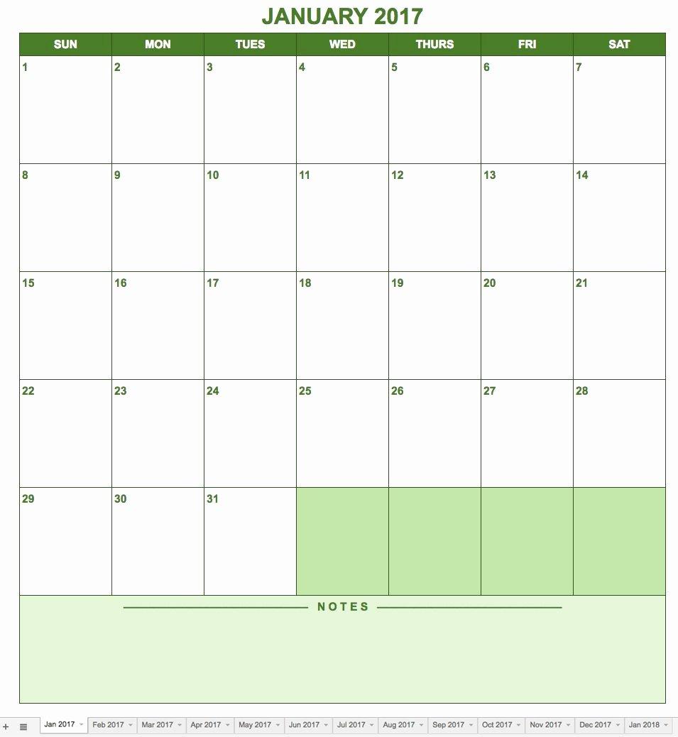 Google Sheets Schedule Template Lovely Free Google Calendar Templates