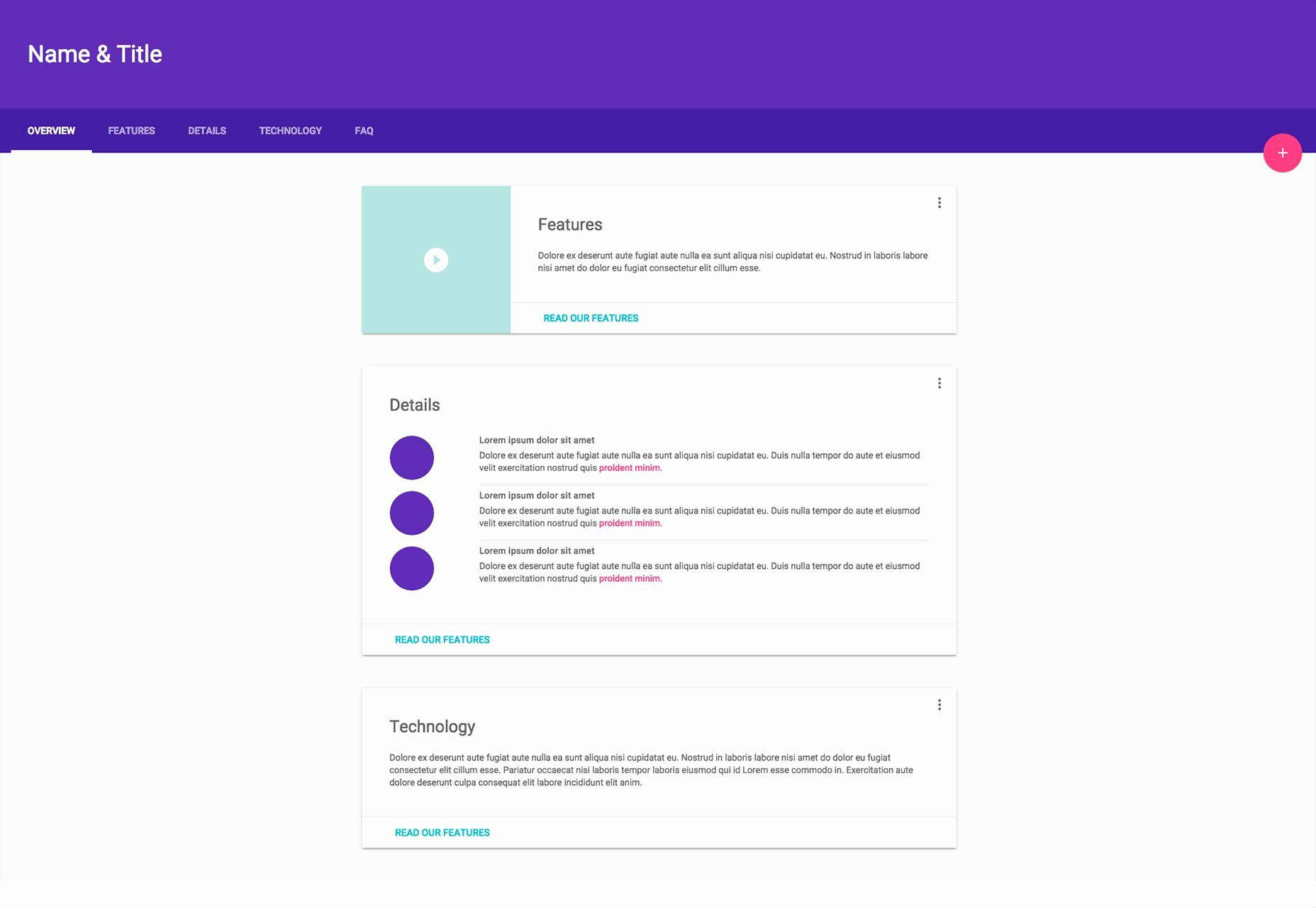 Google Web Page Template Beautiful Google Unveils Material Design Lite