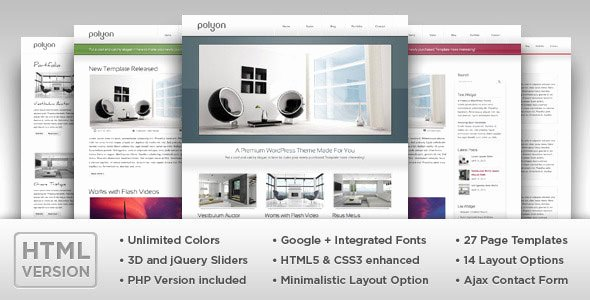 Google Web Page Template Elegant 50 Powerful Minimalist Website Templates