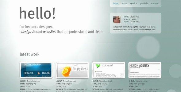 Google Web Page Template Elegant Google Web Designer Templates