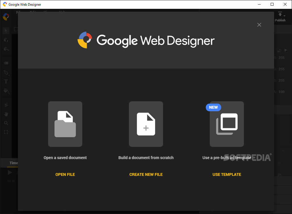 Google Web Page Template Lovely Download Google Web Designer 3 0 1 0319 Beta