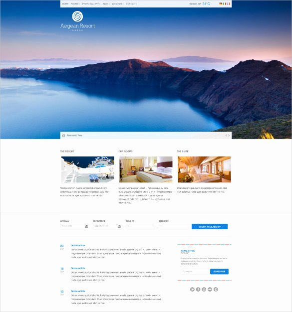 Google Web Page Template New 27 Google Website themes & Templates