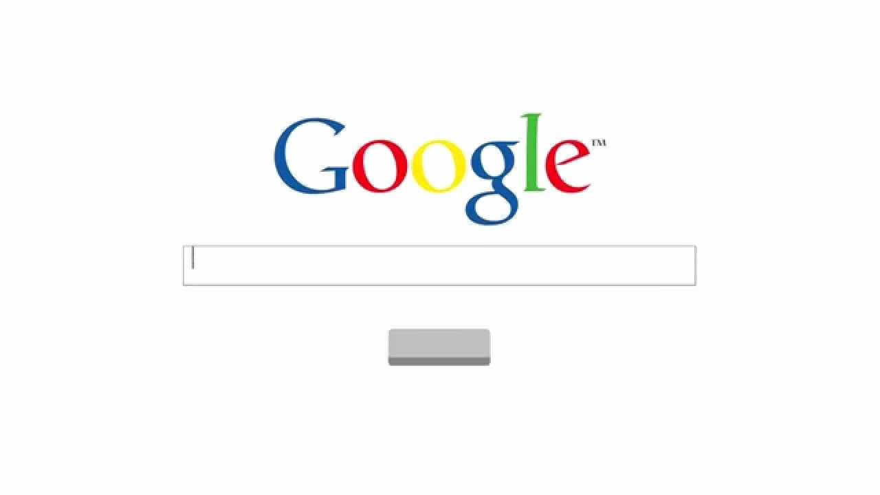 Google Web Page Template New Web Search after Effects Template