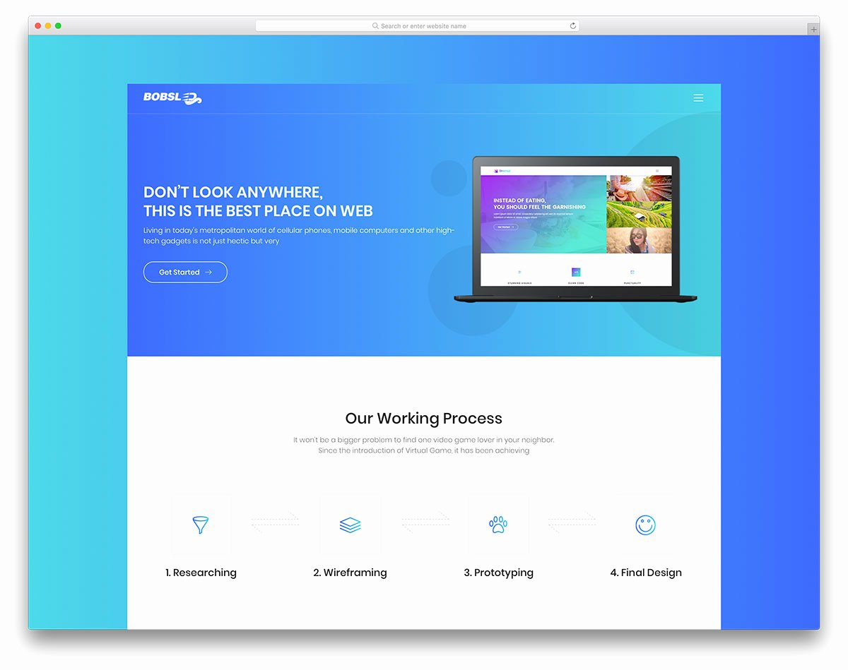 Google Web Page Template Unique 30 Best Free Landing Page Templates 2019 Uicookies