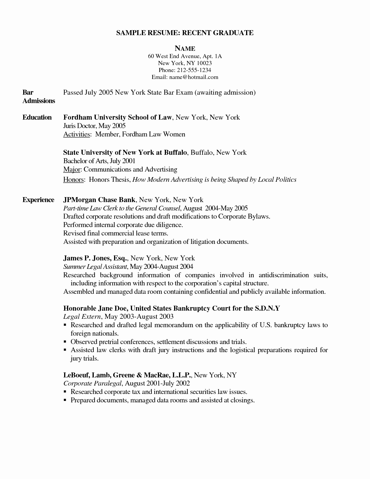 Graduate Nurse Resume Template Awesome New Graduate Nurse Resume Sidemcicek